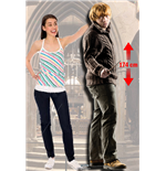 Harry Potter Ron Lifesized Cutout Lifesize Silhouette