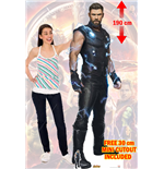 Aiw Ultimate Power Thor Cutout Lifesize Silhouette