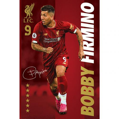 Liverpool FC Poster Firmino 35