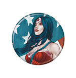 Wonder Woman Portrait 1.25 Inch Button
