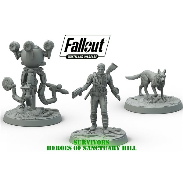 Fallout Ww SURVIV. Heroes Sanctuary Hill Board Game