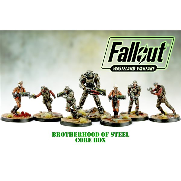 Fallout Ww Brotherhood Of Steel Core Box Board Game