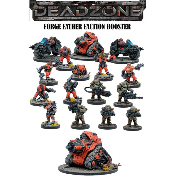 Deadzone Forge Father Faction Booster Wargame