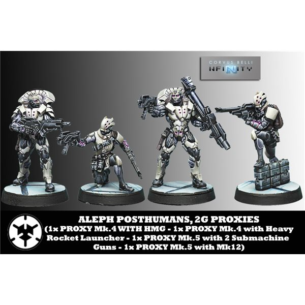 0625 Alep Posthuman 2g Proxies Wargame