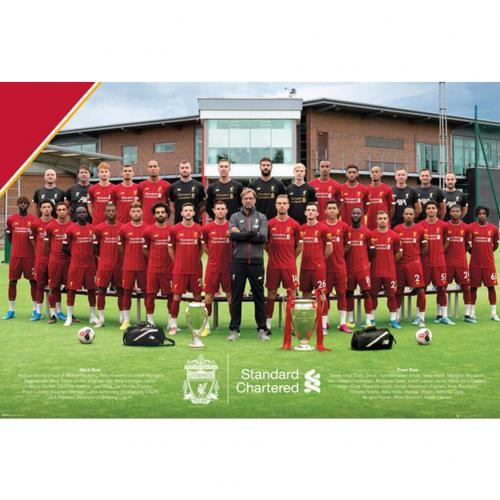 Liverpool FC Poster Squad 37