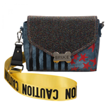Birds of Prey Harley Quinn Caution Tape Handbag