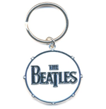 The Beatles Standard Keychain: Drum Logo