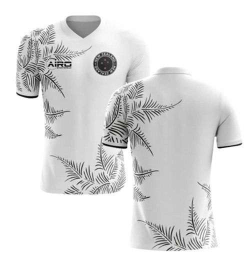2019-2020 New Zealand Home Concept Football Shirt (Barbarouses)