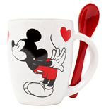 Disney Mickey and Minnie Kissing 4 Ounce Espresso Mug