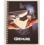 Gremlins Movie Poster Spiral Notebook