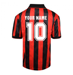 Score Draw AC Milan 1994 Retro Football Shirt (Your Name)