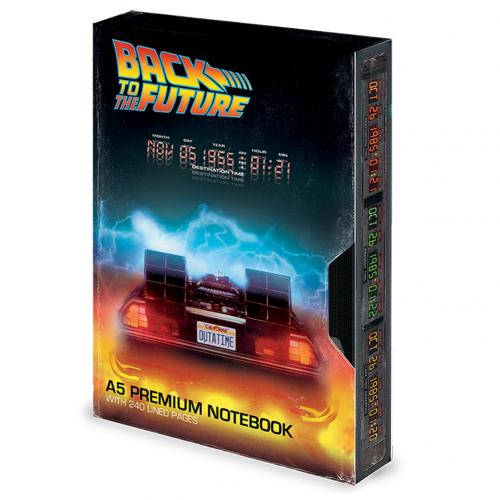 Back To The Future Premium Notebook VHS