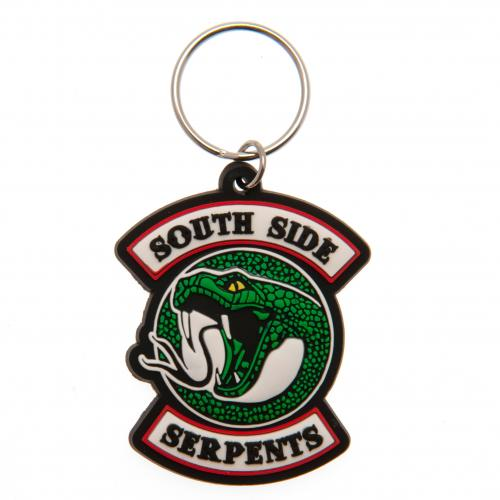 Riverdale PVC Keyring South Side Serpents