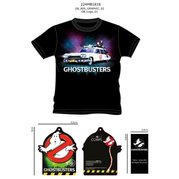 Ghostbusters T-shirt - GH2.NR