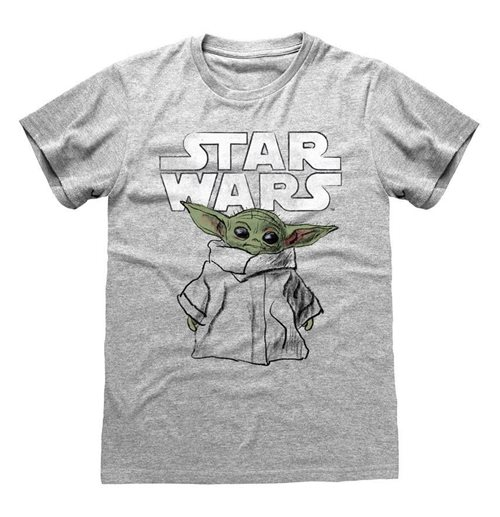Star Wars The Mandalorian T-Shirt Child Sketch