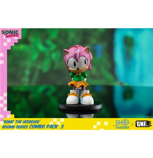 Sonic The Hedgehog BOOM8 Series PVC Figure Vol. 05 Amy 8 cm