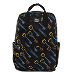 Disney by Loungefly Backpack Kingdom Hearts Keys AOP
