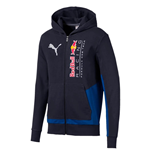 2020 Red Bull Racing Puma Hooded Sweat Jacket (Night Sky)