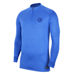 2019-2020 Chelsea Nike Drill Training Top (Blue)