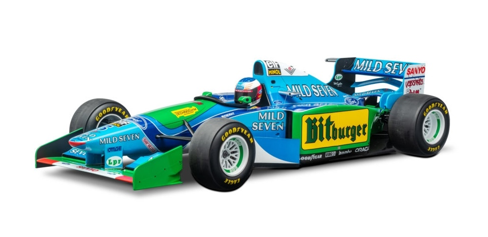 BENETTON FORD B194 MICHAEL SCHUMACHER AUSTRALIAN GP 1994 WORLD CHAMPION F1 1994