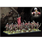 Conquest: The Last Argument of Kings Miniatures 12-Pack Hundred Kingdoms: Militia Bowmen