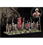 Conquest: The Last Argument of Kings Miniatures 12-Pack Hundred Kingdoms: Militia