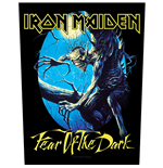 Iron Maiden Patch Fear Of The Dark (BACKPATCH)