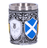 Generic Shot Glass Shot Glass ( Stainless Steel & Resin ) Shot Glass Of The Brave (7CM)
