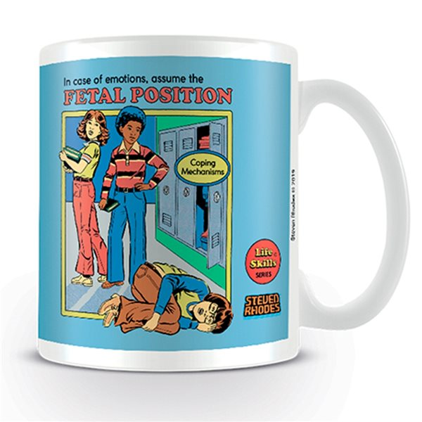 Steven Rhodes Mug Assume The Fetal Position (MUG)