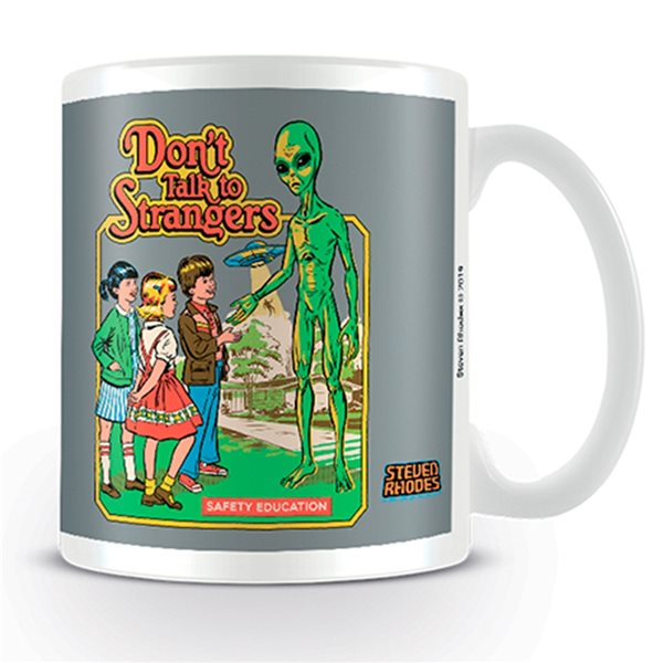 Steven Rhodes Mug DON'T Talk To Strangers (MUG)