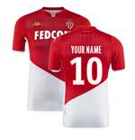 2019-2020 AS Monaco Home Shirt (Kids) (Your Name)