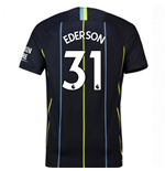 2018-2019 Man City Away Nike Football Shirt (Ederson 31) - Kids