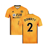 2019-2020 Wolves Home Football Shirt (DOHERTY 2)