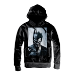 Batman Zipped Hooded Sweater BatBadJoker Face