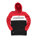 POKEMON Colour Block Hoodie, Male, Large, Multi-colour