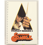 A Clockwork Orange Poster Spiral Noteboo Notebook