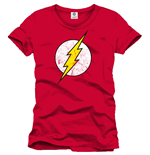 Flash T-Shirt Logo red