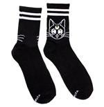 Sailor Moon Luna Black Ankle Socks