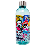 Birds of Prey Sticker Icons 32oz Plastic Water Bottle with Screw Top