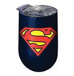 Superman Stainless Steel Wine Tumbler