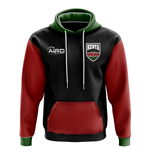 Kenya Concept Country Football Hoody (Black)
