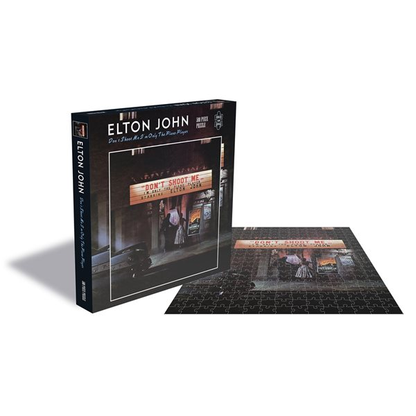 Elton John Puzzle DON'T Shoot Me I'M Only The Piano Player (500 Piece Jigsaw PUZZLE)