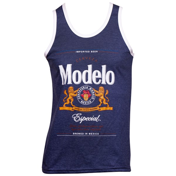 Modelo Especial Label White Trim Men's Tank Top