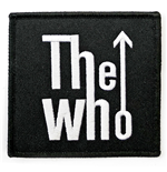 The Who Standard Patch: Arrow Logo