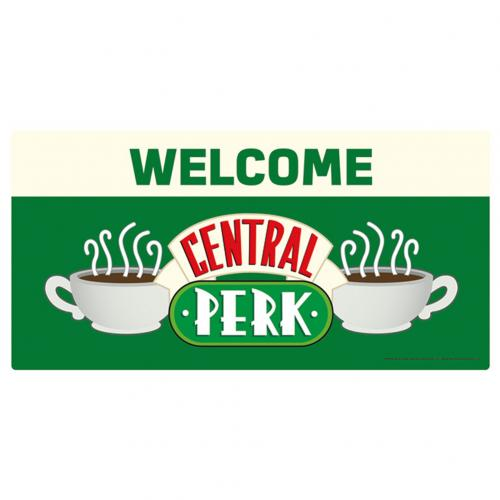 Friends Metal Wall Sign Central Perk