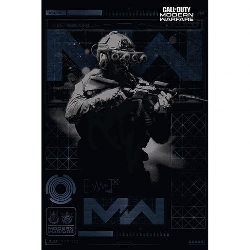 Buy Official Call Of Duty Modern Warfare Poster Elite 171