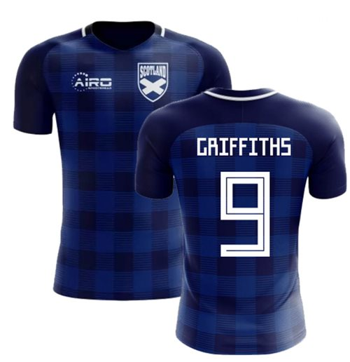 2018-2019 Scotland Tartan Concept Football Shirt (Griffiths 9)