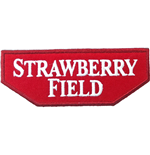 Road Sign Standard Patch: Strawberry Field
