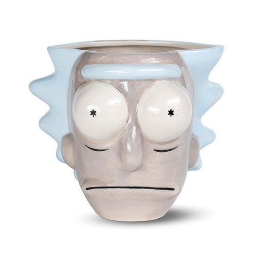 Rick and Morty 3D Shaped Mug Rick Head