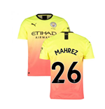 2019-2020 Manchester City Puma Third Football Shirt (MAHREZ 26)